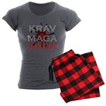 Krav Maga Women's Charcoal Pajamas