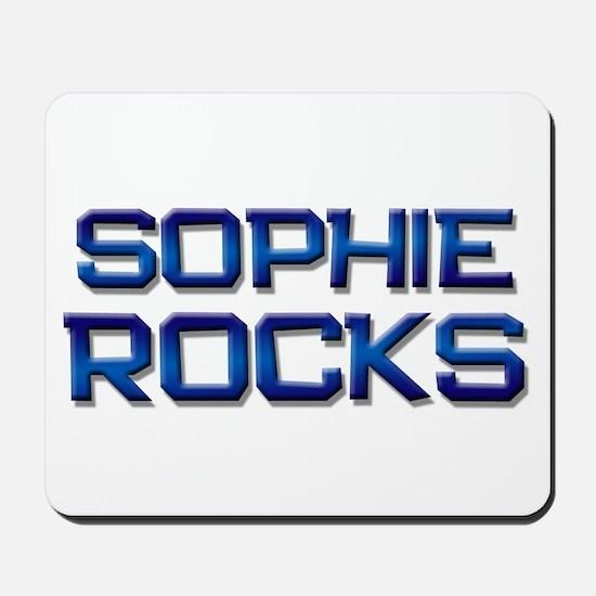 sophie rocks Mousepad