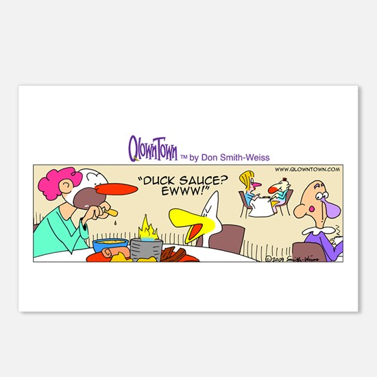 Cute Fire eating Postcards (Package of 8)