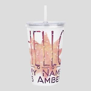 Hello. My Name is Ambe Acrylic Double-wall Tumbler