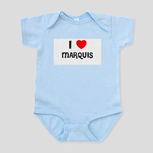 I LOVE MARQUIS Infant Creeper