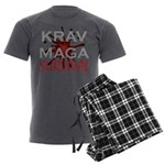 Krav Maga Men's Charcoal Pajamas