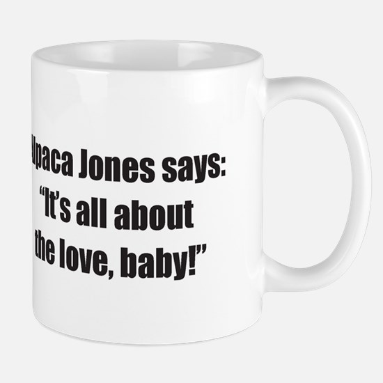 """""""All About the Love"""" Mug (small)"""