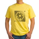 Poppy Metal Plate Yellow T-Shirt