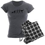 Martial Arts Evolution Women's Charcoal Pajamas
