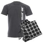 Jiu Jitsu Men's Charcoal Pajamas