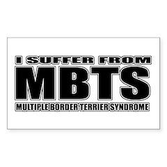 Border Terrier Sticker (Rectangle)
