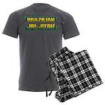 Brazilian Jiu Jitsu Men's Charcoal Pajamas