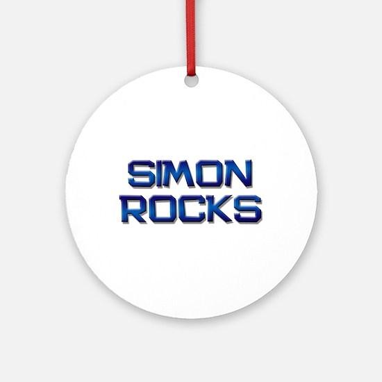 simon rocks Ornament (Round)