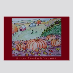 Hillside Harvest Postcards (Package of 8)