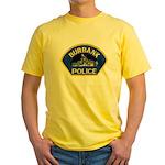 Burbank Police Yellow T-Shirt