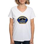 Burbank Police Women's V-Neck T-Shirt