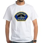 Burbank Police White T-Shirt