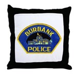 Burbank Police Throw Pillow