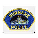 Burbank Police Mousepad