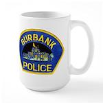 Burbank Police Large Mug