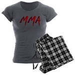 MMA Women's Charcoal Pajamas