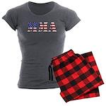 USA MMA Women's Charcoal Pajamas