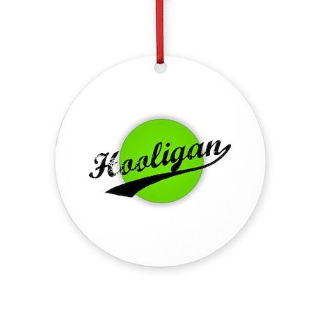 Hooligan (circle-lime) Ornament (Round)