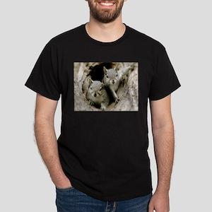 Baby Squirrels Dark T-Shirt