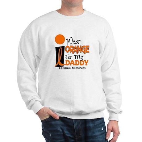I Wear Orange For My Daddy 9 Sweatshirt