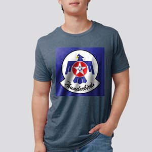 U.Sr Force Thunderbirds Mens Tri-blend T-Shirt