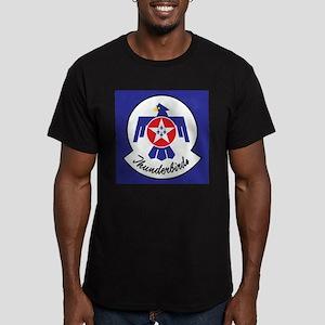 U.Sr Force Thunderbirds Men's Fitted T-Shirt (dark
