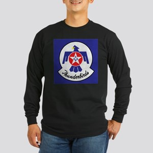 U.Sr Force Thunderbirds Long Sleeve Dark T-Shirt