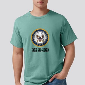 US Navy Symbol Personalized Mens Comfort Colors® S