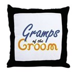 Gramps of the Groom Throw Pillow