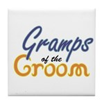 Gramps of the Groom Tile Coaster