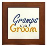 Gramps of the Groom Framed Tile