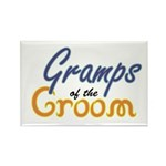 Gramps of the Groom Rectangle Magnet (10 pack)