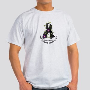 Flower Ribbon MELANOMA Light T-Shirt