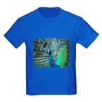 peacock Kids Dark T-Shirt