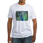 peacock Fitted T-Shirt