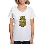 Fort Worth Police Women's V-Neck T-Shirt