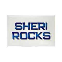 sheri rocks Rectangle Magnet (10 pack)