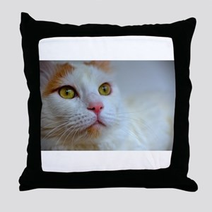 turkish van 2 Throw Pillow