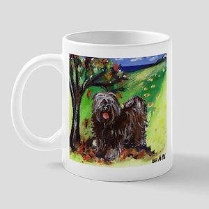 Tibetan Terrier Fall Autumn S Mug