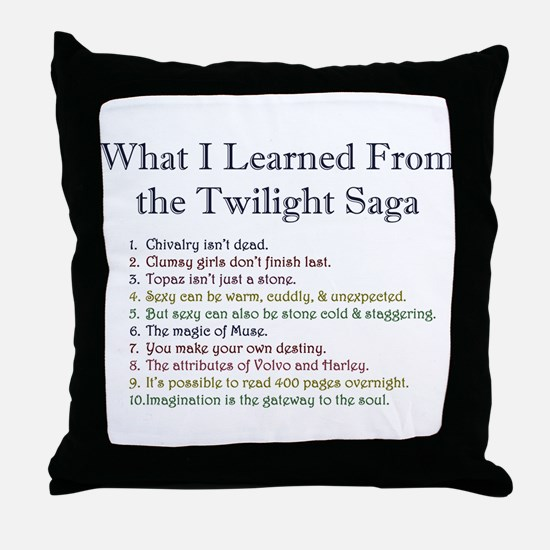 Top Ten Throw Pillow