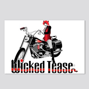 Wicked Tease Postcards (Package of 8)