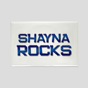 shayna rocks Rectangle Magnet