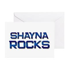 shayna rocks Greeting Cards (Pk of 10)