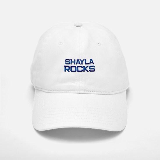 shayla rocks Baseball Baseball Cap