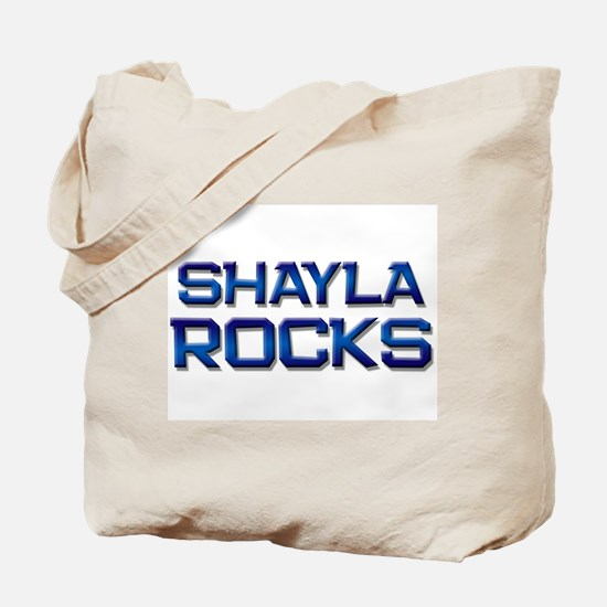 shayla rocks Tote Bag