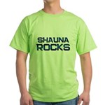 shauna rocks Green T-Shirt