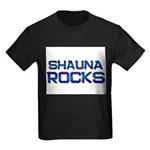 shauna rocks Kids Dark T-Shirt
