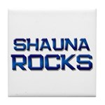 shauna rocks Tile Coaster