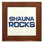 shauna rocks Framed Tile